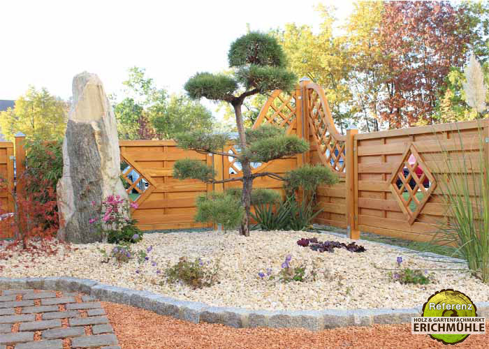 Terrassendielen Gartenholz Zaun Sichtschutz Gartenhaus